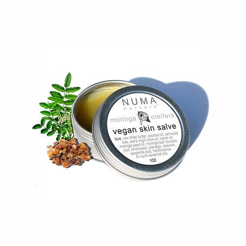 Vegan Moringa Skin Salve 1oz | frankincense + myrrh
