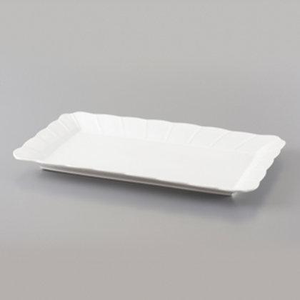 103743 Travessa retangular de porcelana 40,5x25,5cm