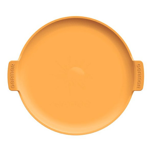 138924 Forma de pizza porcelana amarela