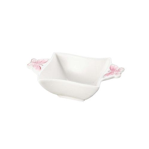 100303 Jg 03 petisquiras porcelanas borboleta 10X6,6cm