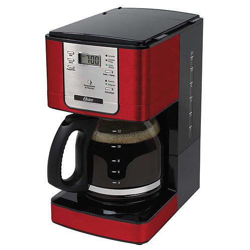 101461 Cafeteira elétrica 24 xícaras vermelha Oster