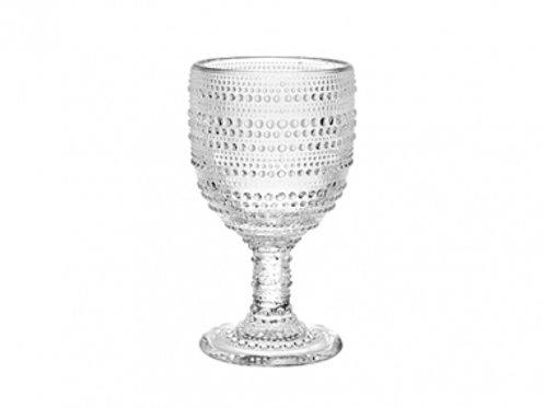 105743 Jg 6 taças água cristal 325ml