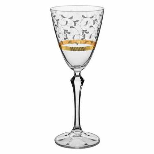 122196 Jogo 06 taças vinho Elisabeth