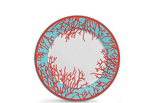 106260 Jogo 06 pratos raso coral