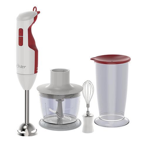 106312 Mixer Oster branco-vermelho 3 em 1