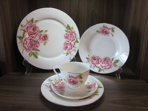 109672 Jogo jantar 30pçs Roses
