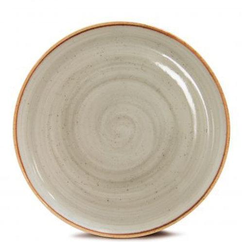 116300 Prato raso 28cm cinza corona