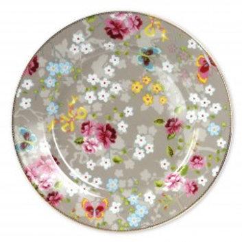 102064 Sousplat Khak floral