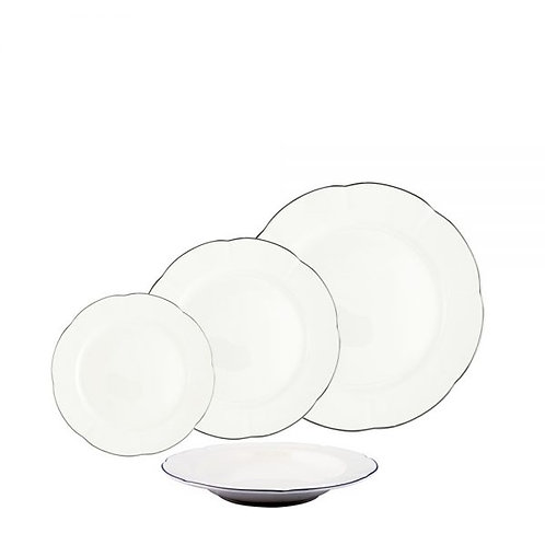 105310 - Ap de jantar windsor (filado prata)