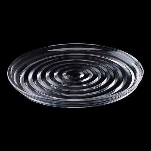 104494 Prato de bolo de cristal 31,3cm layers