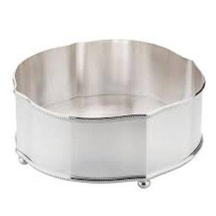 102387 Centro de mesa perola prata