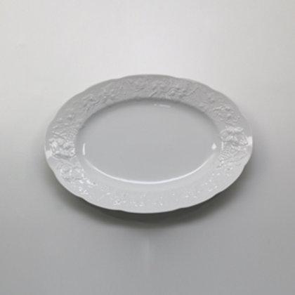 104775 Prato oval 28cm Vendage