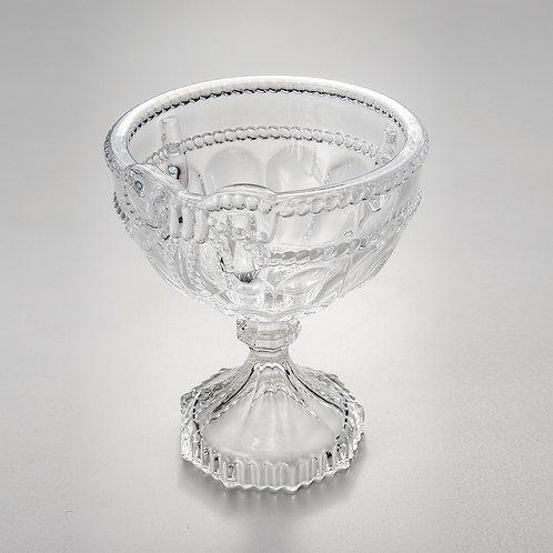 76873 Jg 6 taças Royal de cristal com base