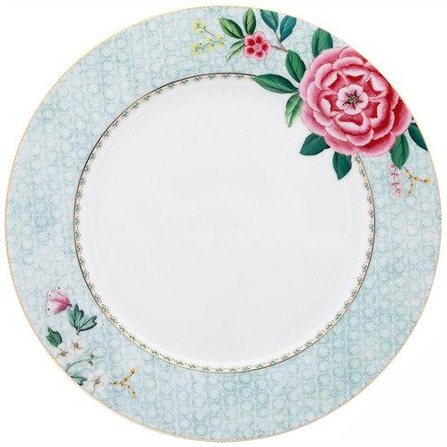 124190 Prato de jantar branco Blushing Birds