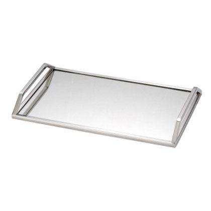 100277 Bandeja inox com espelho