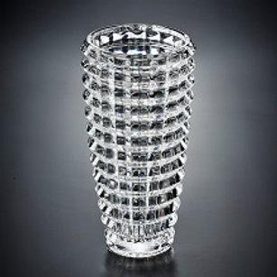 2381 Vaso de cristal Diamond Cut 24.5cm