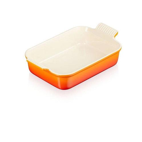 37591 Travessa retangular laranja Le Creuset