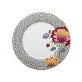 105447 Prato de jantar azul floral fantasy pip studio