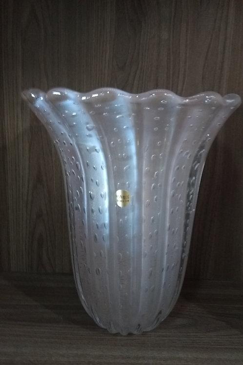 100374 Vaso perola com ouro