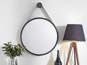112642 Espelho Silvertone marrom