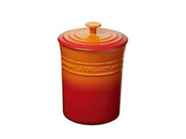 36777 Porta mantimentos pequeno Le Creuset laranja