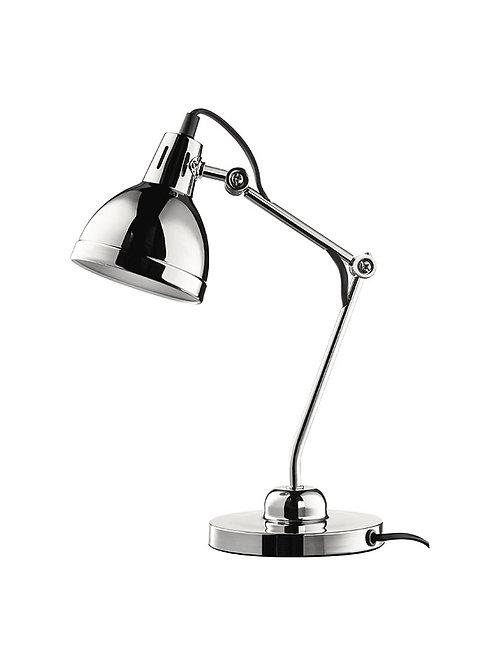 105876 Luminaria de mesa articulada cromada