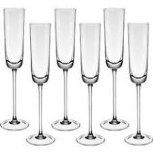 109726 Jogo 06 taças champanhe Linea 120ml