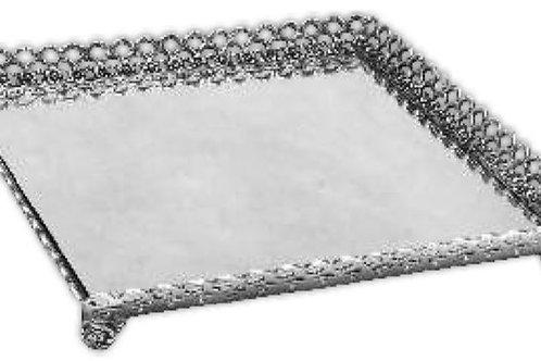 35031 Bandeja de prata c/espelho