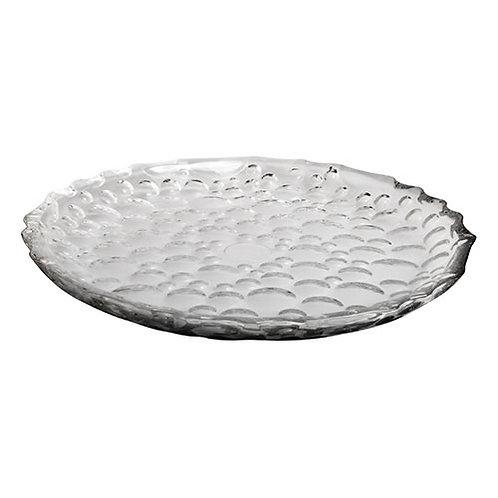101532 Prato para bolo cristal Bubble 29,5cm
