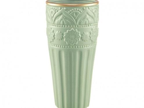 113261 Vaso cerâmica menta