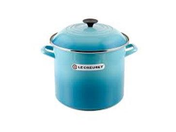 34137 Panela Stock Pot 26cm Le Creuset azul