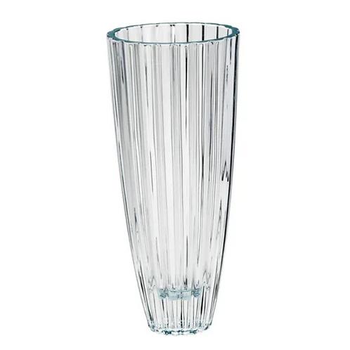 44837 - Vaso oval cristal 35,5cm