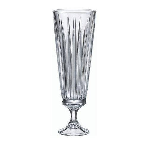 107532 Vaso cristal com pé 37cm
