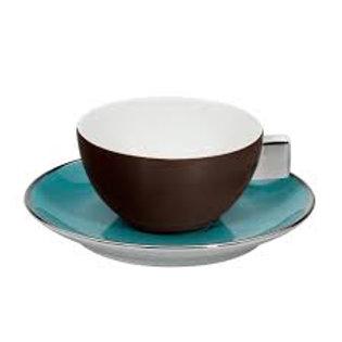 80807 Jogo 6 xícaras de chá Chocolate