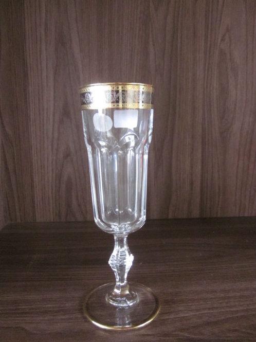 106353 - Jg 06 taças Flute dourada