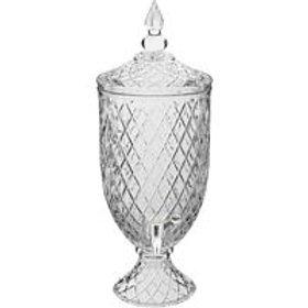 105273 Refresqueira 4L vidro transparente
