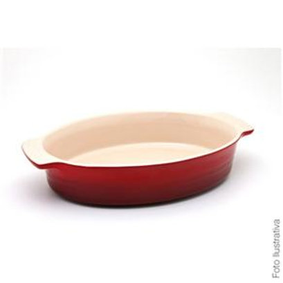 10987 Travessa oval 24cm vermelha Le Creuset