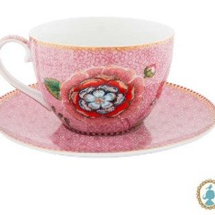 111359 Xicara de chá rosa Spring Life