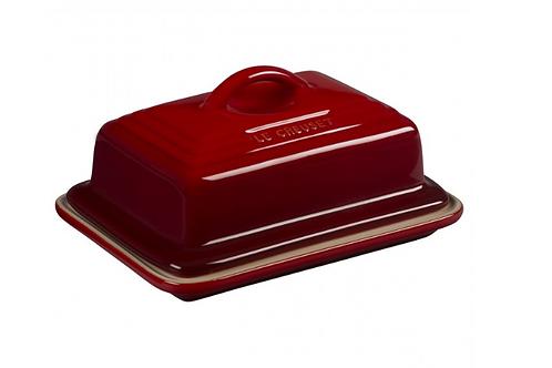 110837 Manteigueira Le Creuset vermelha