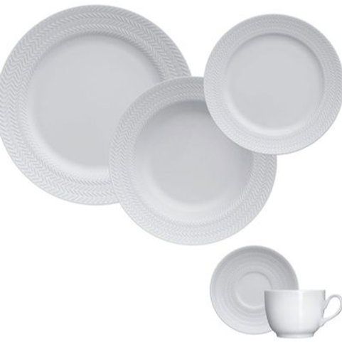 110696 Jogo jantar 30pçs Chevron