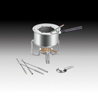 77971 Rechaud para fondue com 6 garfos inox