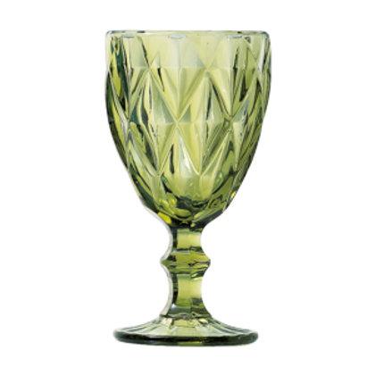 107297 Jogo 06 taças água verde
