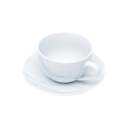 115044 Jogo 06 xicaras de chá marble
