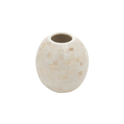 110180 Vaso oval madreperola