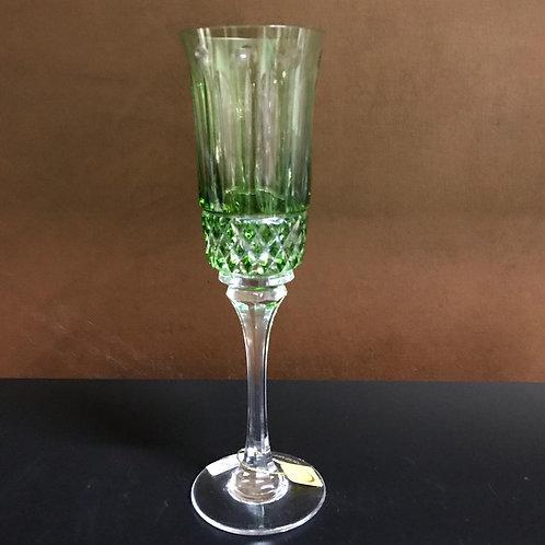 122456 Taça champanhe verde clara lap. 69