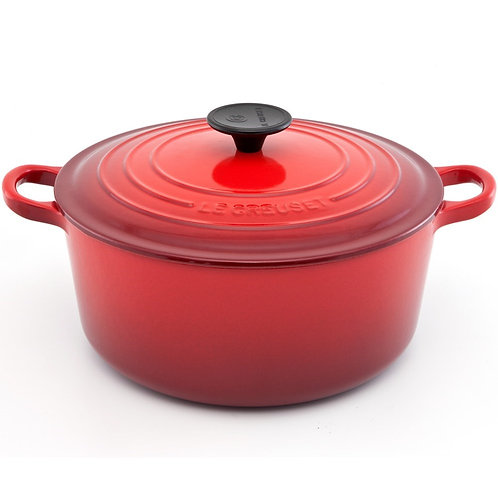13415 Panela redonda 30cm vermelha Le Creuset