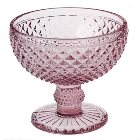 95415 Jg 6 taças sobremesa bico de jaca rosa