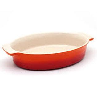 10987 Travessa oval 24cm laranja Le Creuset