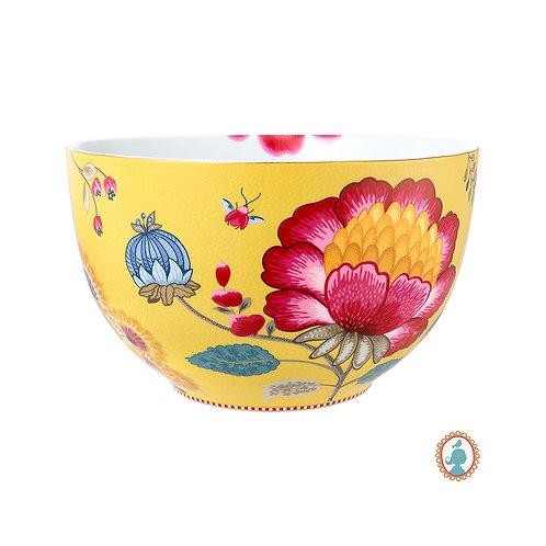 105446 Tigela 23cm amarelo floral fantasy Pip Studio