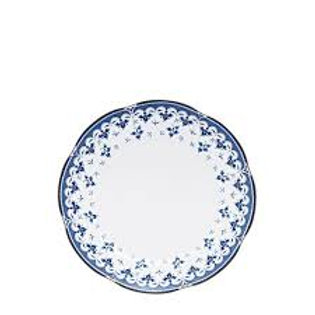 84737 Prato sobremesa Blue Leaf